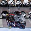 HELM FULL FACE ZEUS 811 BLACK/AL12 RED